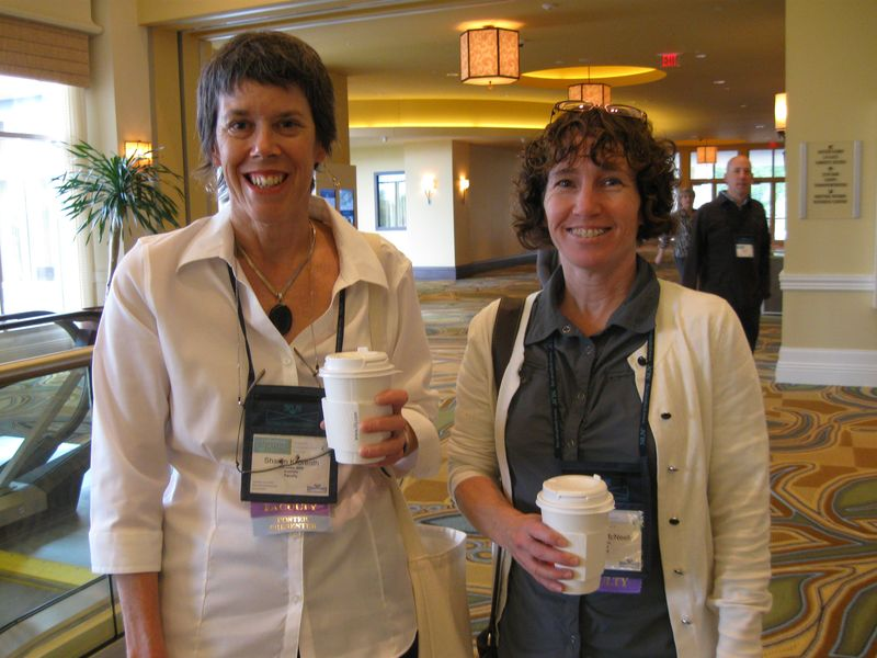photo of researchers (from left to right) Sharon Kilbreath and Margie McNeely